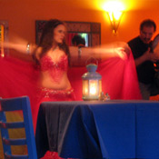 Belly dancing inside